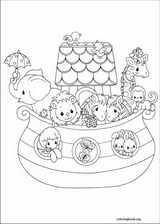 Precious Moments coloring page (063)