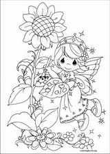 Precious Moments coloring page (065)