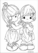 Precious Moments coloring page (066)