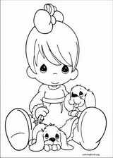 Precious Moments coloring page (067)