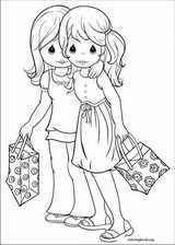 Precious Moments coloring page (068)