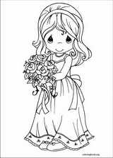 Precious Moments coloring page (070)