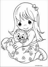 Precious Moments coloring page (071)