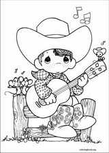 Precious Moments coloring page (073)