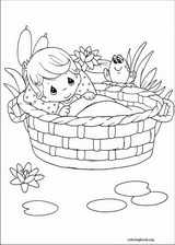 Precious Moments coloring page (076)