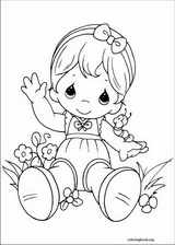 Precious Moments coloring page (077)