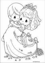 Precious Moments coloring page (080)