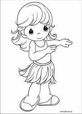 Precious Moments coloring page (081)