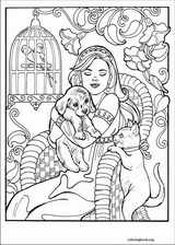 Princess Leonora coloring page (021)