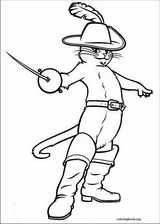 Puss In Boots coloring page (022)