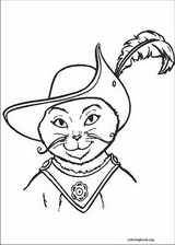 Puss In Boots coloring page (026)