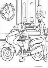Ratatouille coloring page (010)