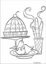 Ratatouille coloring page (025)