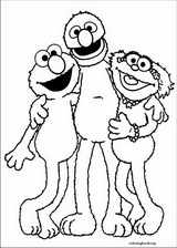 Sesame Street coloring page (001)