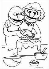 Sesame Street coloring page (006)