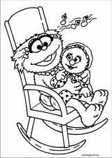 Sesame Street coloring page (007)