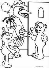 Sesame Street coloring page (013)