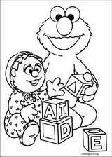 Sesame Street coloring page (015)