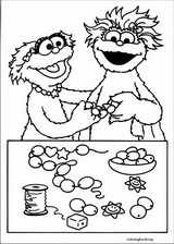 Sesame Street coloring page (016)