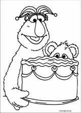Sesame Street coloring page (017)