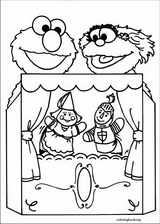 Sesame Street coloring page (020)