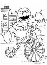 Sesame Street coloring page (024)