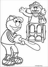Sesame Street coloring page (027)