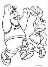 Sesame Street coloring page (032)