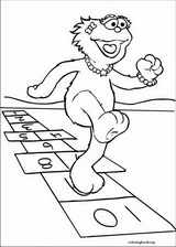 Sesame Street coloring page (033)