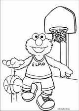 Sesame Street coloring page (042)