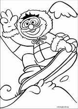 Sesame Street coloring page (044)