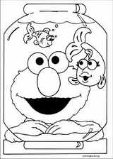 Sesame Street coloring page (052)
