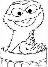 Sesame Street coloring page (053)