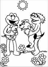 Sesame Street coloring page (054)