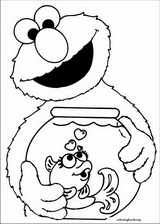 Sesame Street coloring page (056)