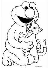 Sesame Street coloring page (060)