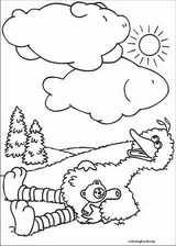 Sesame Street coloring page (063)