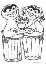 Sesame Street coloring page (064)