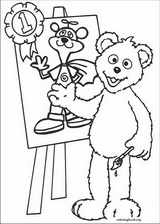 Sesame Street coloring page (065)