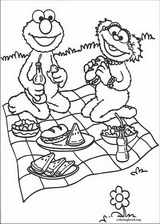 Sesame Street coloring page (075)