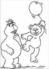 Sesame Street coloring page (084)