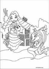 Shark Tale coloring page (002)