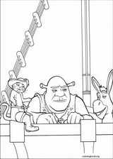 Shrek The Third coloring page (008)
