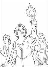 Shrek The Third coloring page (010)