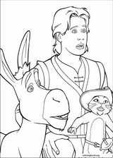 Shrek The Third coloring page (018)
