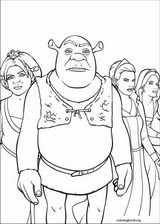 Shrek The Third coloring page (022)