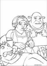 Shrek The Third coloring page (025)