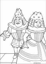 Shrek The Third coloring page (026)
