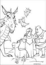 Shrek The Third coloring page (035)