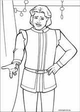 Shrek The Third coloring page (038)
